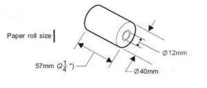 57x40mm till roll size description
