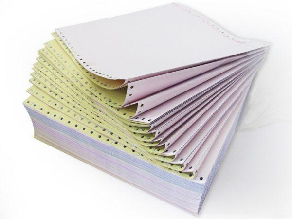 Carbonless Paper Sheet
