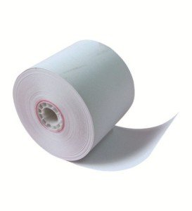 2 1/4'' x 185' thermal roll paper