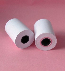 2 14'' thermal credit card paper roll