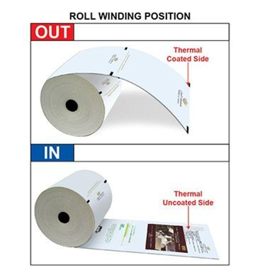 Roll winding position