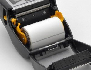 Zebra print label rolls