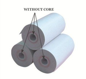 57mm corelss thermal paper roll