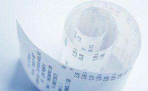 use receipt paper healthily